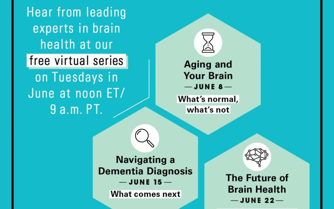You & Your Brain - A Prevention, Healthy Women, & Women's Alzheimer's Movement - Collaboration